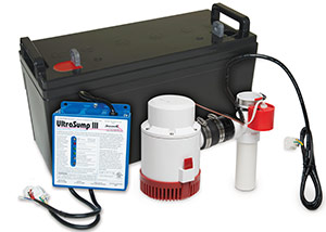 a battery backup sump pump system in Tullahoma